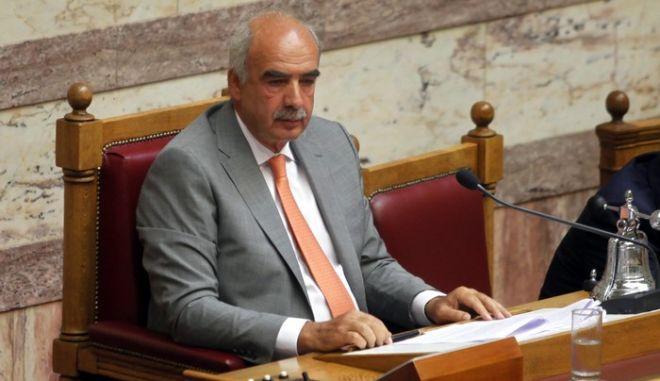 Συζήτηση επίκαιρων ερωτήσεων στη Βουλή την Τετάρτη 12 Σεπτεμβρίου 2012.  (EUROKINISSI/ΓΙΩΡΓΟΣ ΚΟΝΤΑΡΙΝΗΣ)