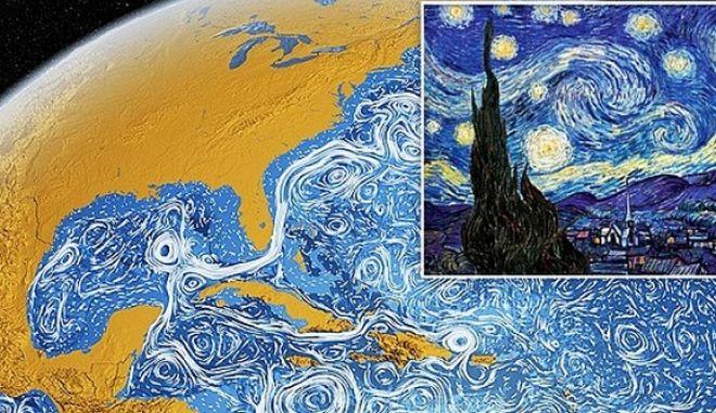 Οι ωκεανοί και ο πίνακας του Van Gogh