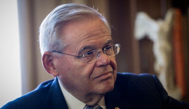 Το μέλος της Επιτροπής Εξωτερικών Υποθέσεων των Ηνωμένων Πολιτειών Αμερικής Robert (Bob) Menendez