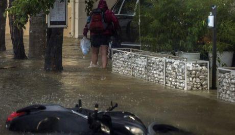 Πλημμύρες και καταστροφές στην Κεφαλονιά.