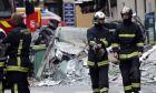 Πυροσβέστες στο Παρίσι