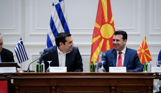 Υπογραφή διμερών συμφωνιών μεταξύ Ελλάδας και Δημοκρατίας της Βόρειας Μακεδονίας