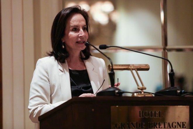 H πρώην Υπουργός Παιδείας, Αννα Διαμαντοπούλου