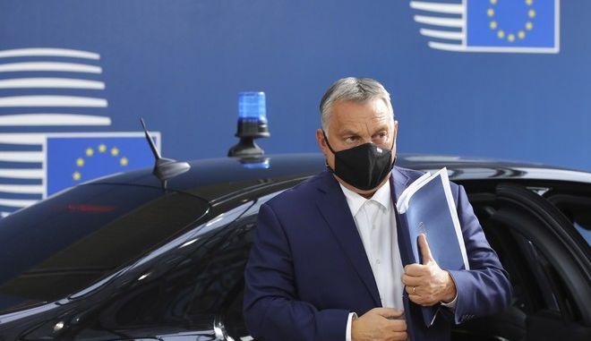 Ο πρωθυπουργός της Ουγγαρίας Βίκτορ Ορμπάν