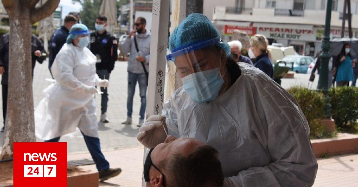 Κορονοϊός: 1387 νέα κρούσματα σήμερα στην Ελλάδα – 81 νεκροί και 783 διασωληνώσεις – Υγεία