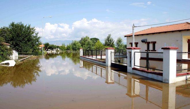 Πλημμύρες στην Καβάλα. Φωτό αρχείου.