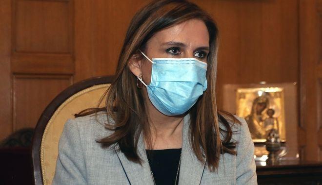 Η υφυπουργός Υγείας Ζωή Ράπτη