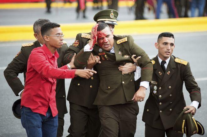 Κατά την επίθεση με drones τραυματίστηκαν επτά μέλη της Εθνοφρουράς