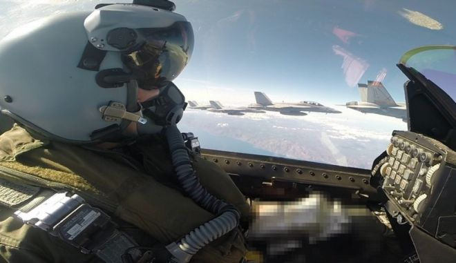 Cockpit μαχητικού αεροσκάφους