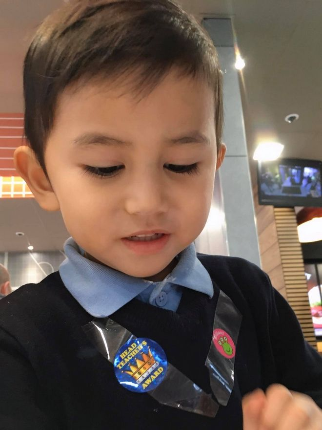 Ο μικρός Μοχάμεντ.