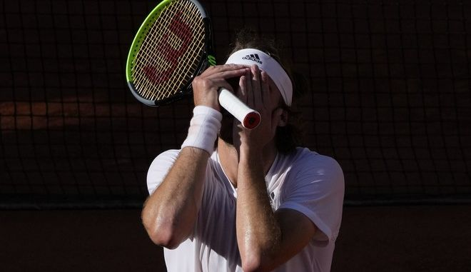 Ο Στέφανος Τσιτσιπάς στοRoland Garros