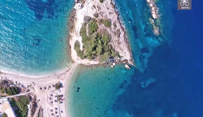 Κοκκάρι: Το κρυμμένο διαμάντι της Σάμου με τη διπλή παραλία