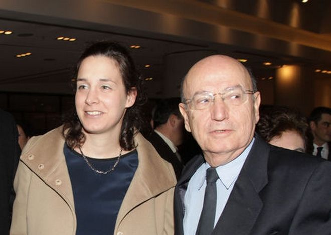 Ο Θόδωρος Αγγελόπουλος και η κόρη του, Άννα