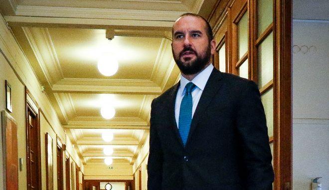 Ο υπουργός Επικράτειας κ. Δημήτρης Τζανακόπουλος