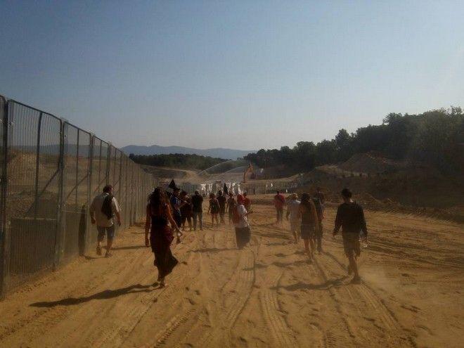 Φωτογραφίες από τις Σκουριές: Δεν είναι η Σαχάρα. Είναι το κομμένο δάσος της Χαλκιδικής