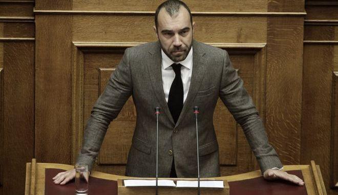 Ο Βουλευτής της Χρυσής Αυγής, Π.Ηλιόπουλος