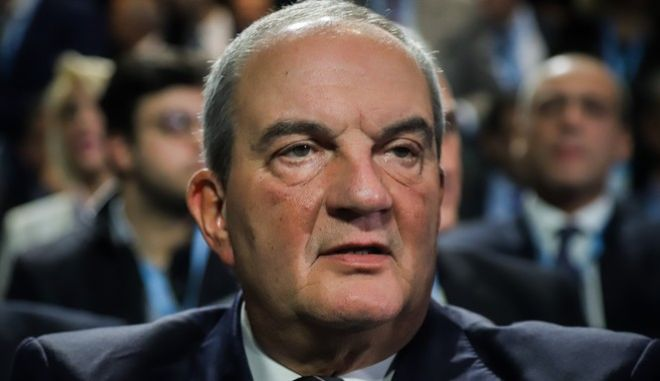 Ο πρώην πρωθυπουργός, Κ. Καραμανλής