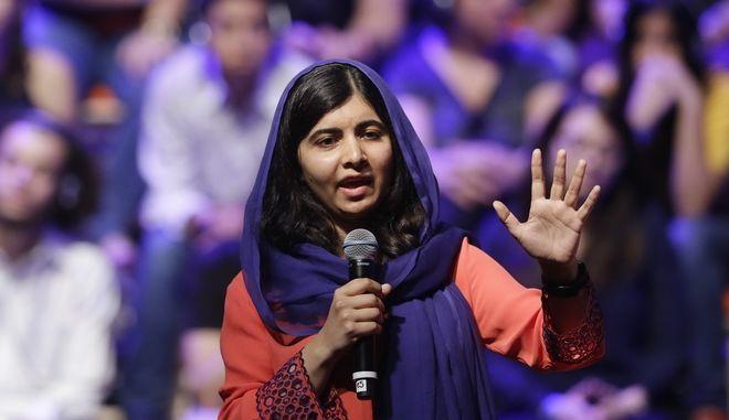 Η νομπελίστρια ειρήνης Μαλάλα Γιουσαφζάι