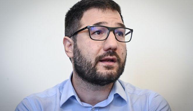 Ο εκπρόσωπος Τύπου του ΣΥΡΙΖΑ-Προοδευτική Συμμαχία, Νάσος Ηλιόπουλος