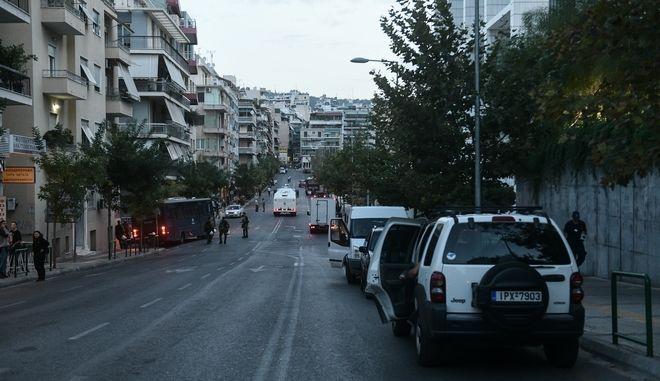 Έκτακτες ρυθμίσεις από την ΕΛ.Α.Σ στους δρόμους γύρω από το Εφετείο της Αθήνας