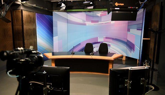 Φωτό αρχείου: Τηλεοπτικό στούντιο
