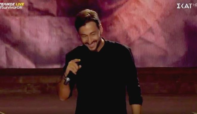 Survivor Τελικός: Η αμήχανη στιγμή της βραδιάς - Ο Καλίδης ξέχασε τους στίχους σε playback