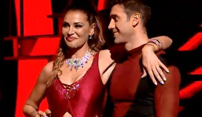 Dancing with the stars: 'Τέλος' Μαρία Καλάβρια και Αλμπέρτο Εσκενάζυ