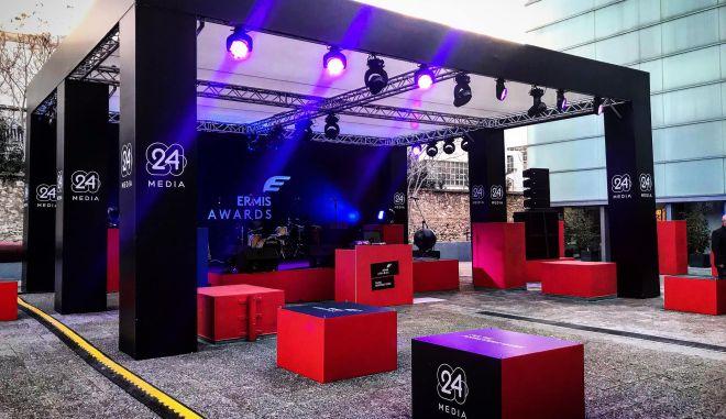 """Η 24MEDIA """"Χρυσός Χορηγός"""" στα Ermis Awards 2018"""