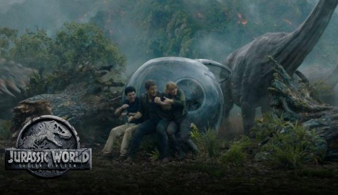 'Σπάει ταμεία' το τρέιλερ του Jurassic World: Fallen Kingdom