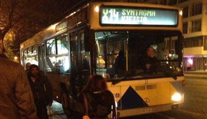 """Καταγγελία: Άστεγος """"έφαγε πόρτα"""" από οδηγό λεωφορείου"""
