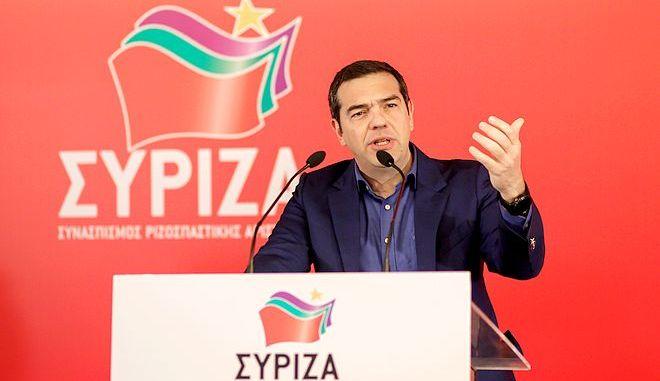 Συνεδρίαση της Κεντρικής Επιτροπής του ΣΥΡΙΖΑ, το Σάββατο 15 Φεβρουαρίου 2020. (EUROKINISSI/ΓΙΩΡΓΟΣ ΚΟΝΤΑΡΙΝΗΣ)