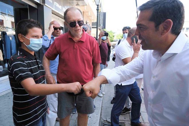 Επίσκεψη του προέδρου του ΣΥΡΙΖΑ, Αλέξη Τσίπρα, στην Κω
