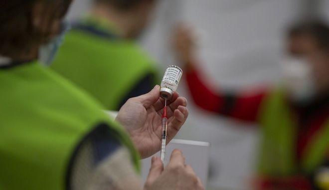 Εμβολιασμός με της AstraZeneca στο Βέλγιο