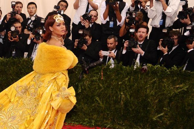 Rihanna, Met Gala, 2015