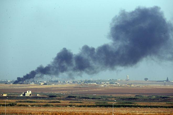 Βομβαρδισμός στη Συρία