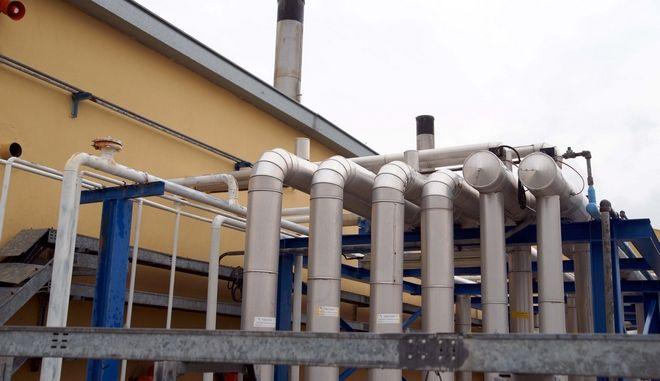 Εγκαταστάσεις φυσικού αερίου