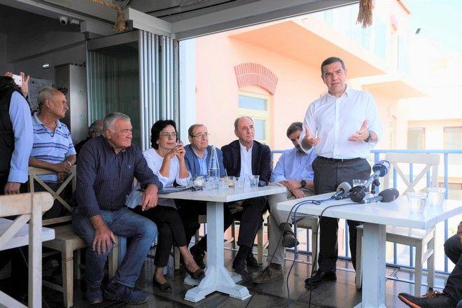 Περιοδεία Τσίπρα στην Κρήτη: