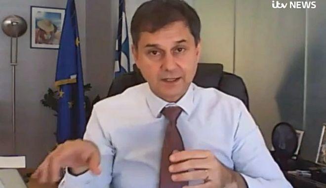 Θεοχάρης: Όλοι οι Βρετανοί, με εμβόλιο ή όχι, θα μπορούν να έρθουν το καλοκαίρι στην Ελλάδα