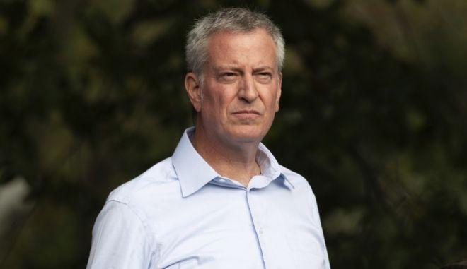 Ο δήμαρχος της Νέας Υόρκης, Bill de Blasio