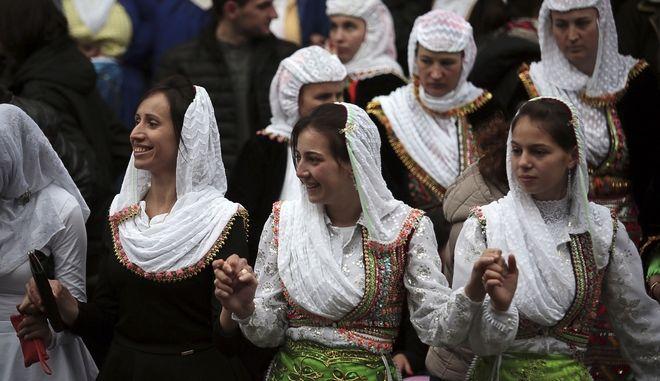 Στιγμιότυπο από γάμο στη Βουλγαρία