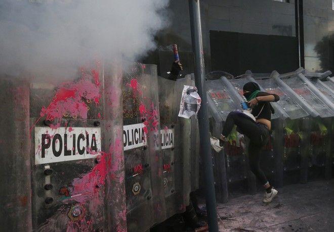 Διαδηλώσεις για τη νομιμοποίηση των αμβλώσεων στο Μεξικό
