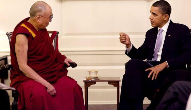Συνάντηση  Δαλάι Λάμα- Ομπάμα στον Λευκό Οίκο