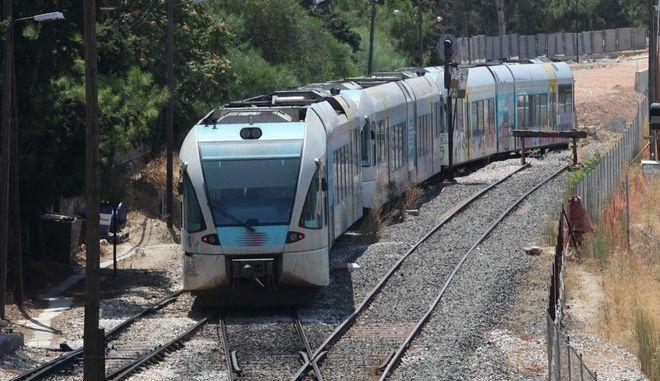 Στιγμιότυπο από σιδηρόδρομο
