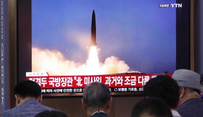 Η Βόρεια Κορέα κετόξευσε νέου τύπου βαλλιστικούς πυραύλους