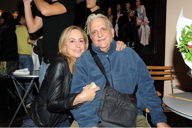Ο ηθοποιός Μπάμπης Γιωτόπουλος και η Ελένη Γκασούκα