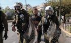 Ένταση στο πανεκπαιδευτικό συλλαλητήριο στην Αθήνα την Πέμπτη 15 Οκτωβρίου 2020. (EUROKINISSI/ΒΑΣΙΛΗΣ ΡΕΜΠΑΠΗΣ)