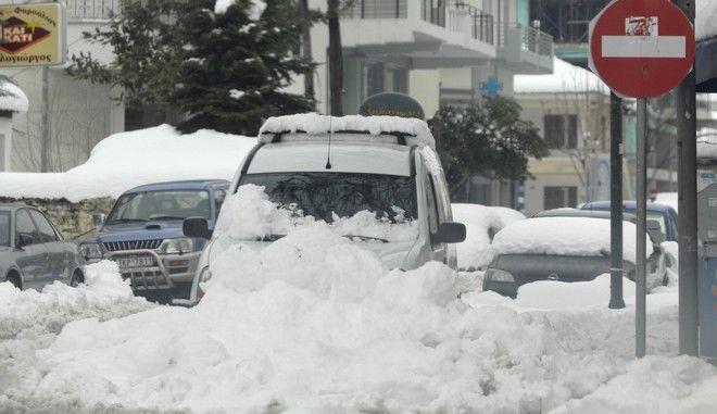 Πολύ καλύτερη είναι η κατάσταση στο νομό Τρικάλων και μετά από την έντονη χιονόπτωση που προηγήθηκε από το απόγευμα της Πέμπτης 2 Φεβρουαρίου 2012 τόσο στα ορεινά αλλά και στα πεδινά του νομού. Οι θερμοκρασίες ωστόσο κυμαίνονται ιδιαίτερα χαμηλές με την περιοχή να γνωρίζει έναν από τους πιο κρύους χειμώνες των τελευταίων ετών. Από το ξημέρωμα της Παρασκευής 3 Φεβρουαρίου υπήρξαν πολλά προβλήματα στις μετακινήσεις ειδικά εντός της πόλης των Τρικάλων, ενώ σημαντικά καλύτερη ήταν η ανταπόκριση του κρατικού μηχανισμού στην εκκαθάριση του επαρχιακού δικτύου. Προβλήματα αυτή την στιγμή υπάρχουν στη σύνδεση στον ορεινό όγκο με το χιόνι να ξεπερνά ακόμα και το 1,5 μέτρο! Αποκλεισμένα βρίσκονται 8 χωριά στο ορεινό σύμπλεγμα του Δήμου Πύλης. Πολλά ήταν τα προβλήματα και στην ηλεκτροδότηση σε όλο το νομό Τρικάλων αλλά σύμφωνα με τις τελευταίες πληροφορίες που υπάρχουν η συντριπτική πλειοψηφία των βλαβών έχει επιδιορθωθεί. Προβλήματα επίσης που υπήρχαν στην υδροδότηση χωριών επιλύθηκαν στην διάρκεια της ημέρας. Σε ότι αφορά τα σχολεία, κανένα δεν λειτούργησε την Παρασκευή 3 Φεβρουαρίου και έπειτα από αποφάσεις των Δημάρχων που έχουν την αρμοδιότητα.Το στιγμιότυπα Τρίκαλα.  (EUROKINISSI/ΘΑΝΑΣΗΣ ΚΑΛΛΙΑΡΑΣ)