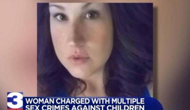 Φρίκη στις ΗΠΑ: Γυναίκα βίασε εννέα παιδιά από την οικογένειά της