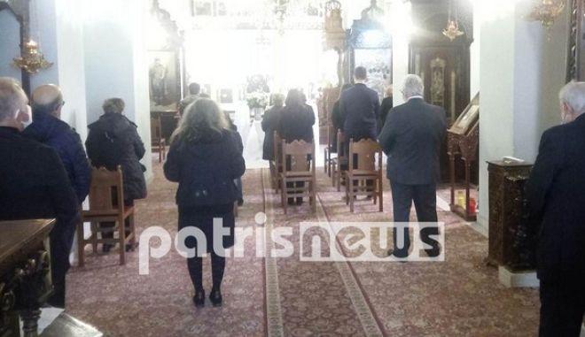 Αμαλιάδα: Τίμησαν τη μνήμη του Μανώλη Αγιομυργιαννάκη, ήταν το πρώτο θύμα κορονοϊού στην Ελλάδα