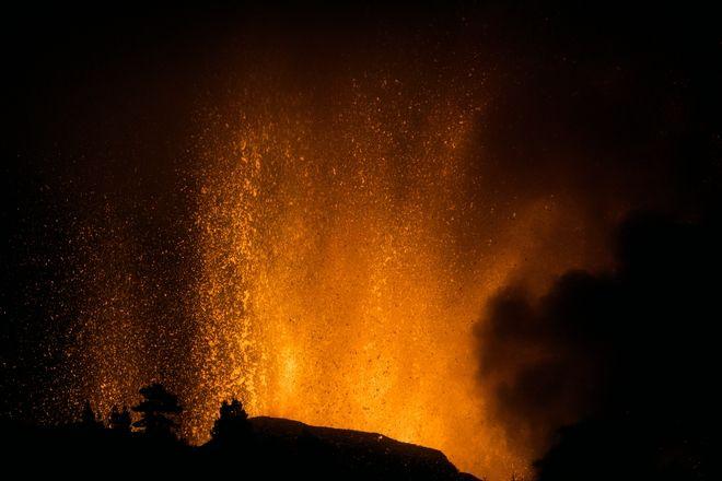 Έκρηξη ηφαιστείου στη Λα Πάλμα